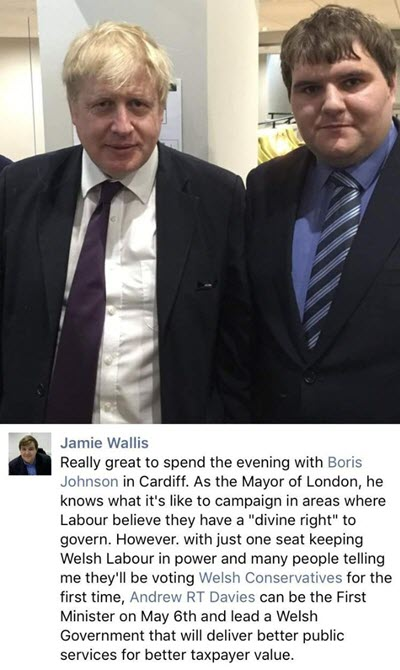 Jamie Wallis Lobbying